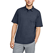 Under Armour Men's Charged Cotton Scramble Golf Polo Shirt