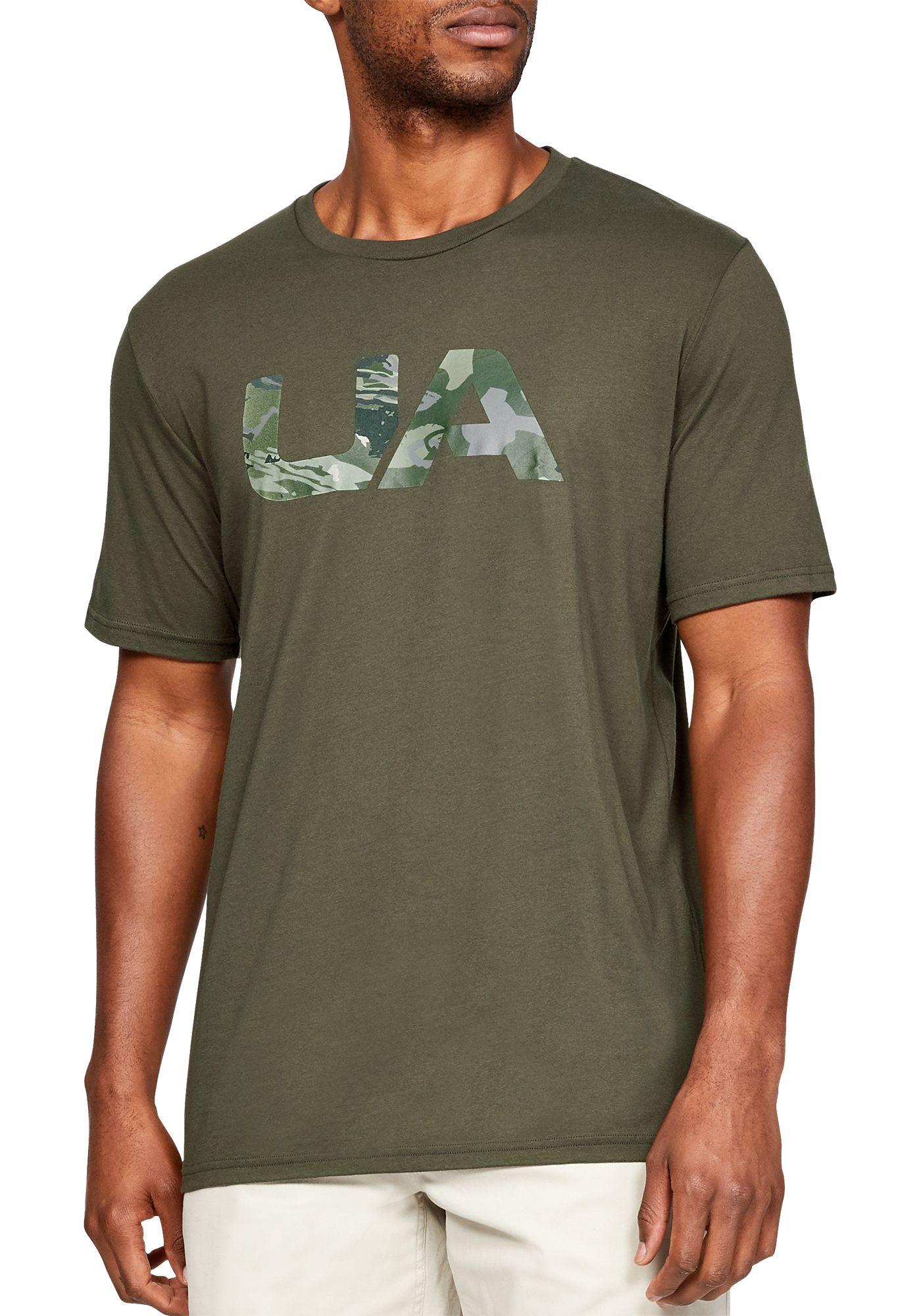 Under Armour Men's Camo Fill T-Shirt