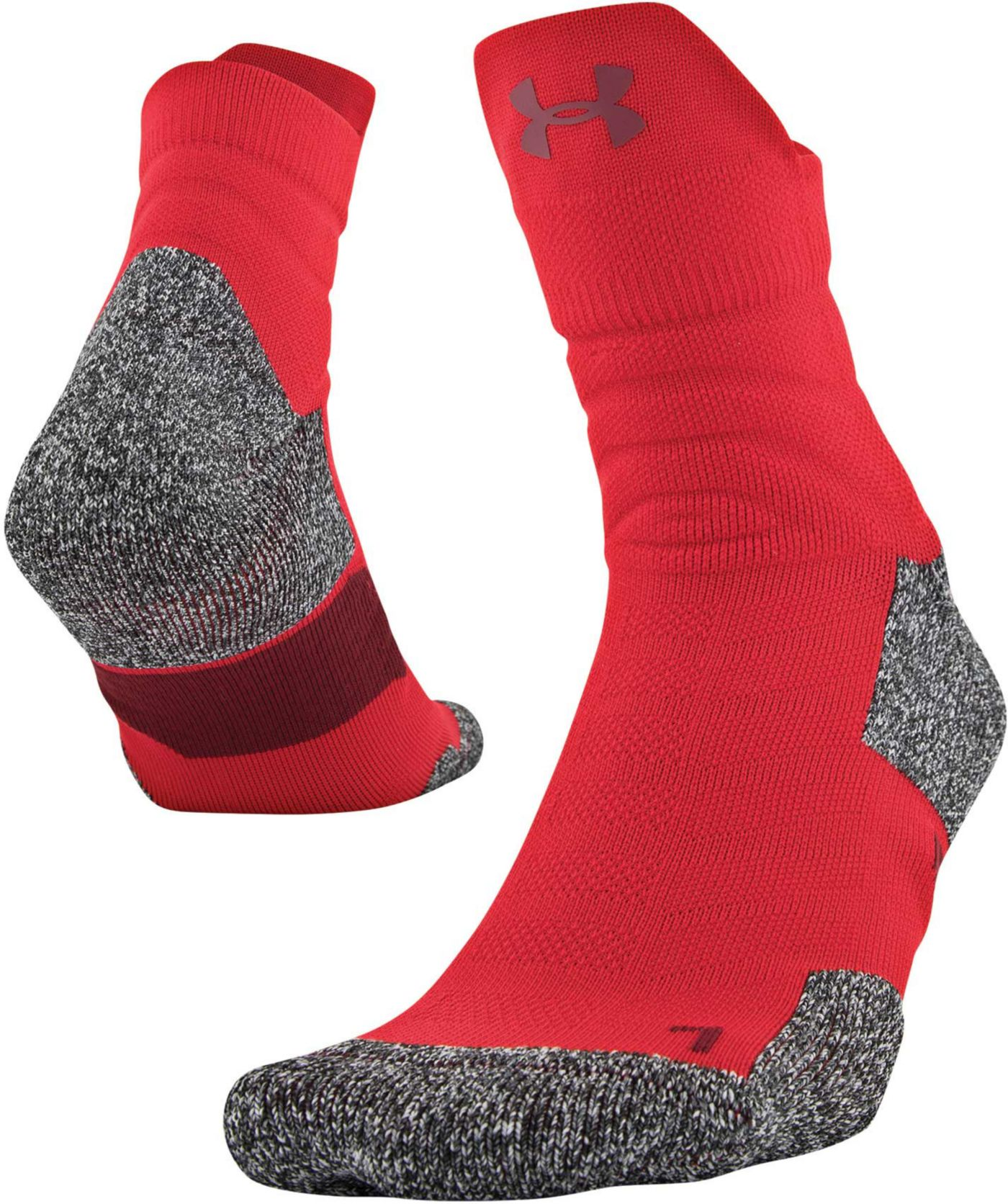 Under Armour Men's Drive Basketball Quarter Socks
