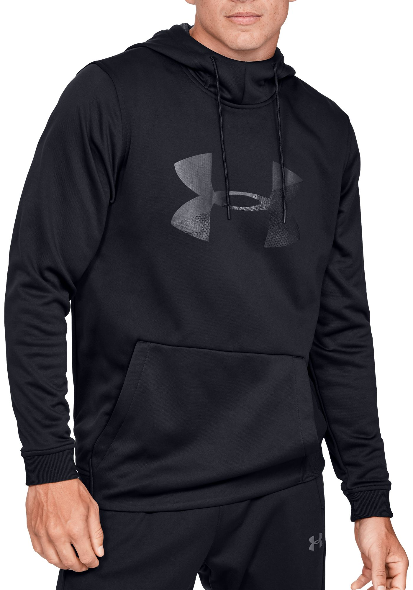 Under Armour Men's Armour Fleece Big Logo Graphic Hoodie