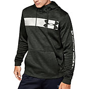 Under Armour Men's Armour Fleece Bar Logo Hoodie (Regular and Big & Tall)