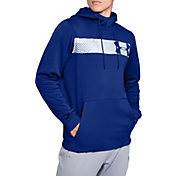 Under Armour Men's Armour Fleece Bar Logo Hoodie