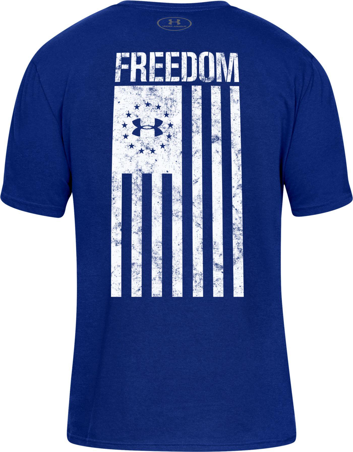 Under Amour Men's Freedom Flag T-Shirt