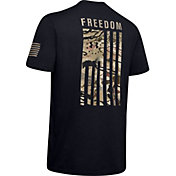Under Armour Men's Freedom Flag Camo T-Shirt (Regular and Big & Tall)