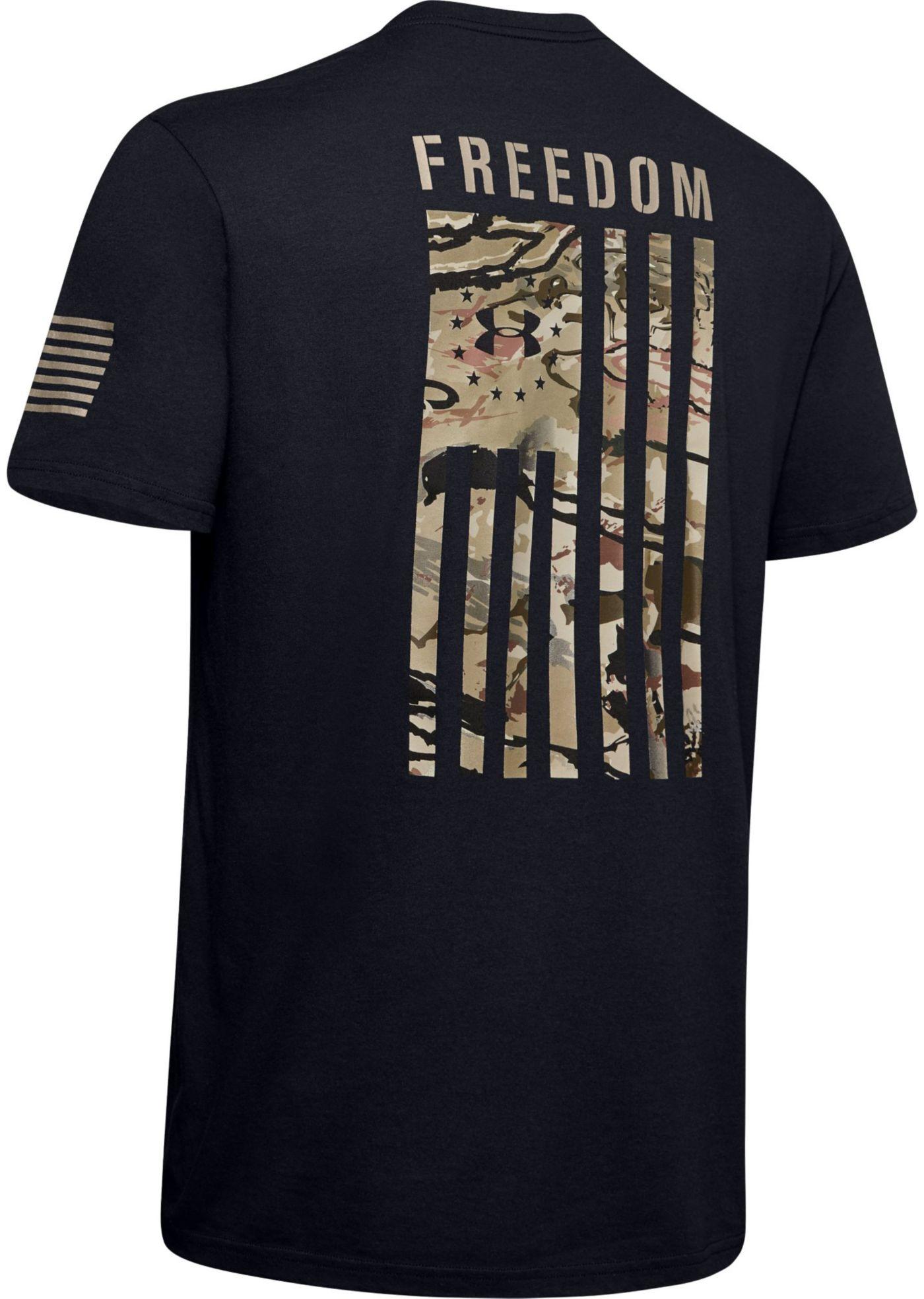 Under Armour Men's Freedom Flag Camo T-Shirt (Regular and Big & Tall)