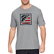 Under Armour Men's Freedom Flag Photoreal Box T-Shirt
