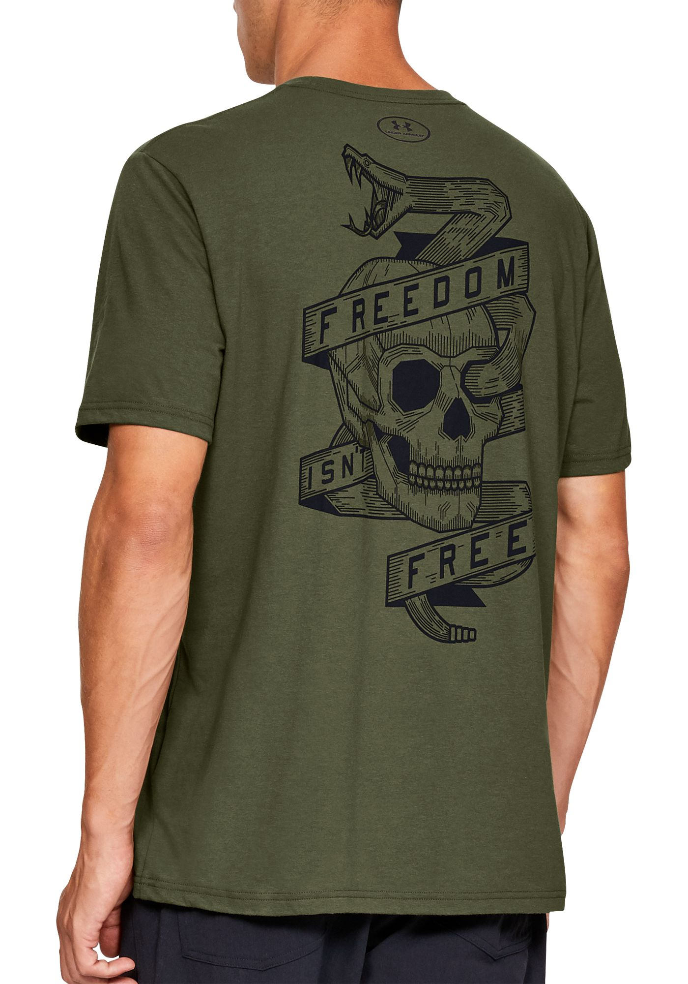 Under Armour Men's Freedom Isn't Free  Graphic  T-Shirt