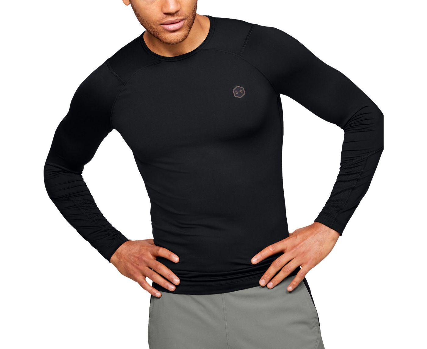 Under Armour Men's RUSH HeatGear Compression Long Sleeve Shirt