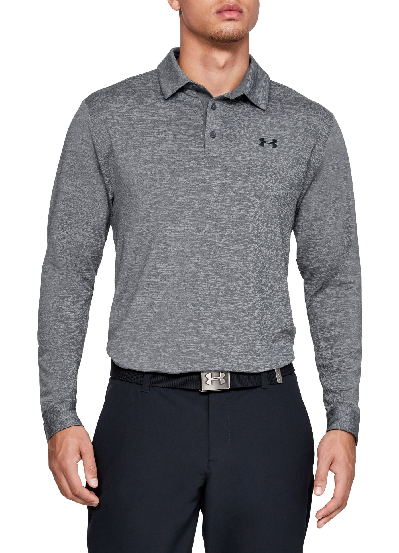 Under Armour Men's Playoff 2.0 Long Sleeve Golf Polo
