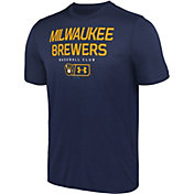 Under Armour Men's Milwaukee Brewers Tech Performance T-Shirt