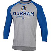 Under Armour Men's Durham Bulls Royal Raglan Three-Quarter Sleeve Shirt