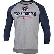 Under Armour Men's Rocky Mountain Vibes Navy Raglan Three-Quarter Sleeve T-Shirt