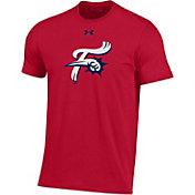 Under Armour Men's Reading Fightin Phils Red Performance T-Shirt