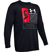 Under Armour Men's Multi Logo Long Sleeve Shirt