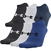 Under Armour Men's Essential Lite No Show Socks - 6 Pack