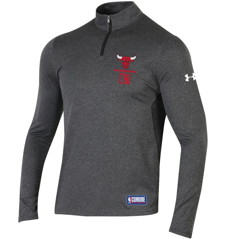 Under Armour Men's Chicago Bulls Quarter-Zip Pullover