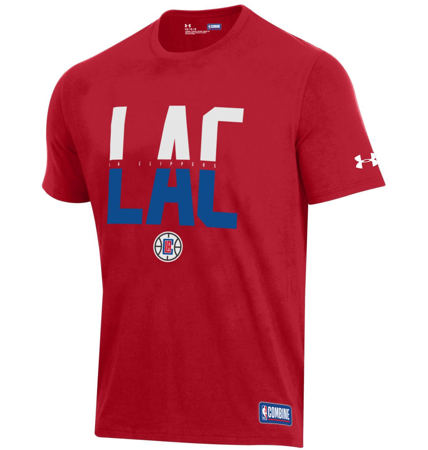 Under Armour Men's Los Angeles Clippers Performance T-Shirt