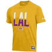 Under Armour Men's Los Angeles Lakers Performance T-Shirt