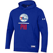 Under Armour Men's Philadelphia 76ers Lockup Hoodie