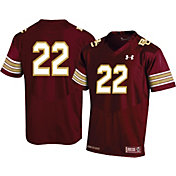 Under Armour Men's Boston College Eagles #22 Maroon Replica Football Jersey