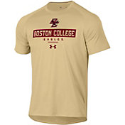 Under Armour Men's Boston College Eagles Gold Tech Performance T-Shirt