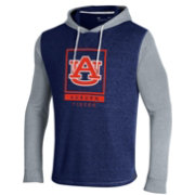 Under Amour Men's Auburn Tigers Blue Waffle Pullover Hoodie
