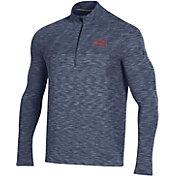 Under Armour Men's Auburn Tigers Blue Vanish Quarter-Zip Shirt