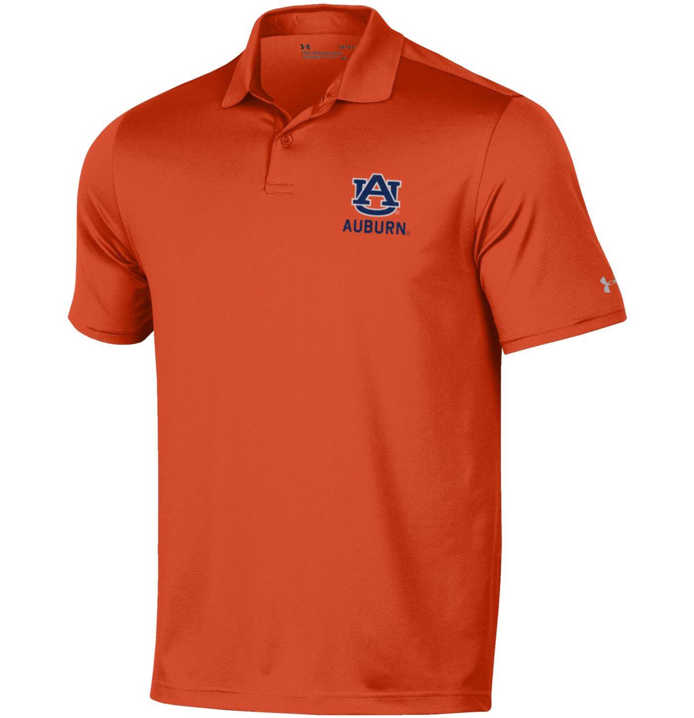 Under Armour Men's Auburn Tigers Orange Performance Polo