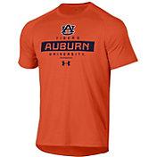 Under Armour Men's Auburn Tigers Orange Tech Performance T-Shirt