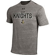 Under Armour Men's UCF Knights Grey Tri-Blend Short Sleeve Performance T-Shirt