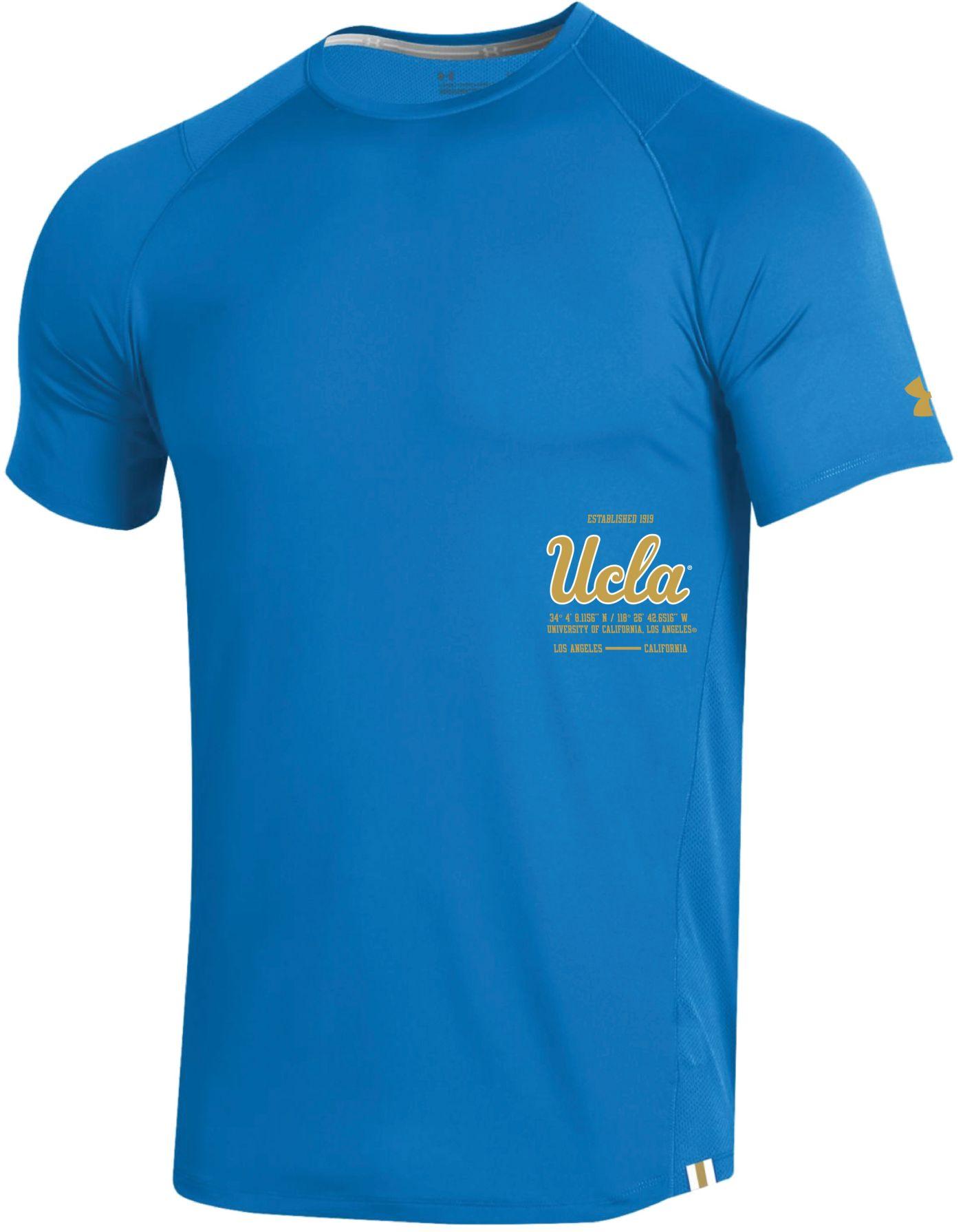 Under Armour Men's UCLA Bruins True Blue Coordinates MK1 Sideline T-Shirt