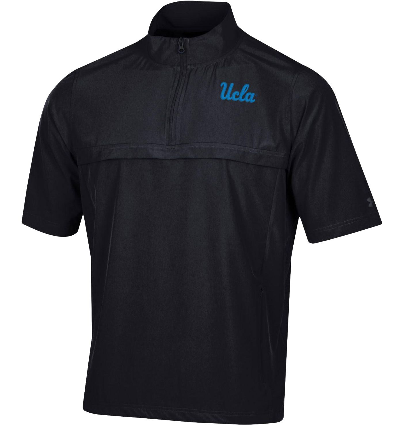 Under Amour Men's UCLA Bruins 'Chip Kelly' Half-Sleeve Quarter-Zip Black Shirt