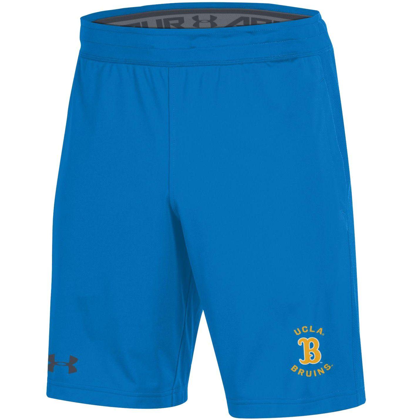 Under Armour Men's UCLA Bruins True Blue Raid Performance Shorts