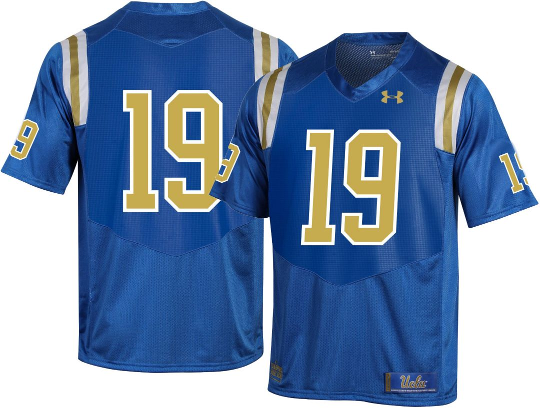 pick up 7159e c2505 Under Armour Men's UCLA Bruins #19 True Blue Replica Football Jersey