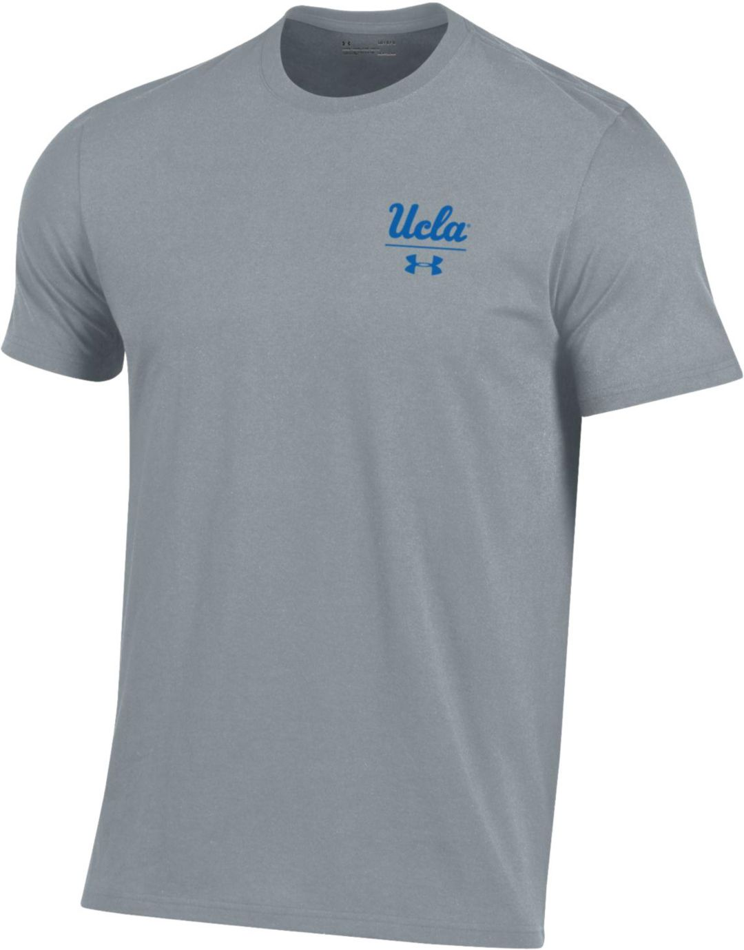 the best attitude 44599 3338b Under Armour Men's UCLA Bruins Grey 'Chip Kelly' Performance Cotton T-Shirt
