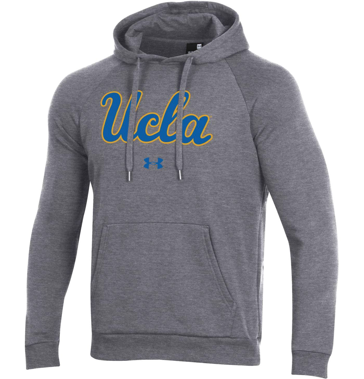 Under Armour Men's UCLA Bruins Grey All Day Hoodie