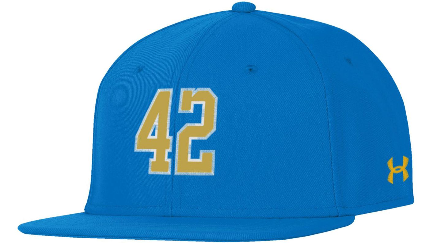 Under Armour Men's UCLA Bruins True Blue 'Jackie Robinson' Fitted Hat