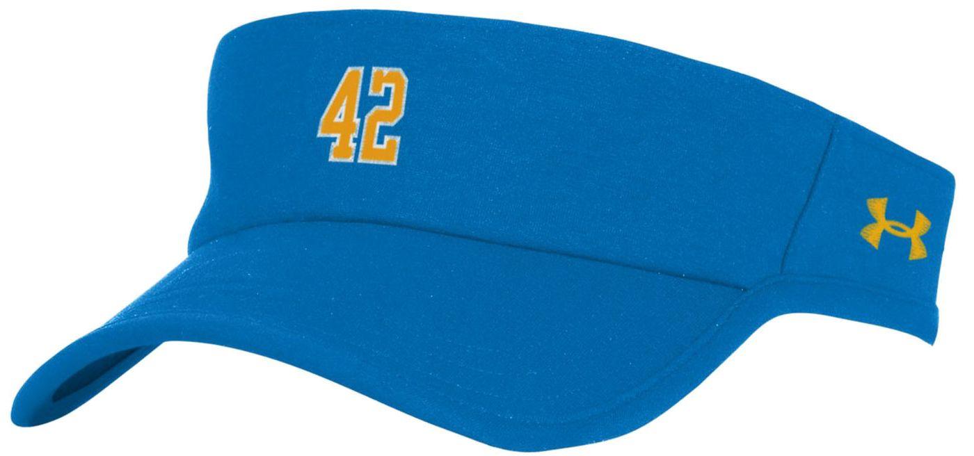 Under Armour Men's UCLA Bruins True Blue 'Jackie Robinson' Performance Visor