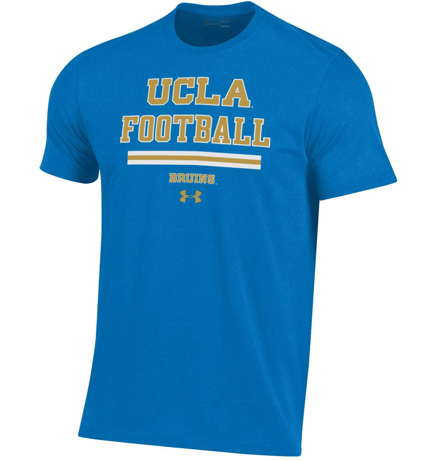 Under Armour Men's UCLA Bruins True Blue Football Performance Cotton T-Shirt