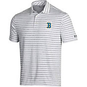 Under Armour Men's UCLA Bruins Playoff Tour Striped White Polo