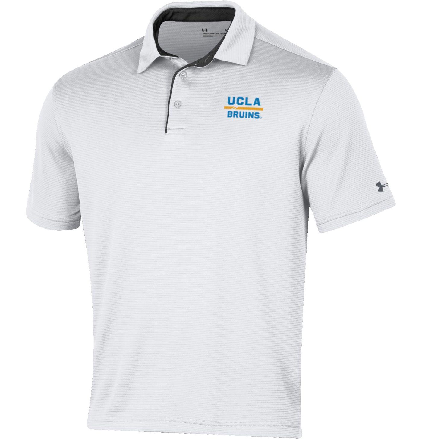 Under Armour Men's UCLA Bruins Tech White Polo