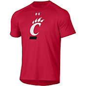 Under Armour Men's Cincinnati Bearcats Red Tech Performance T-Shirt