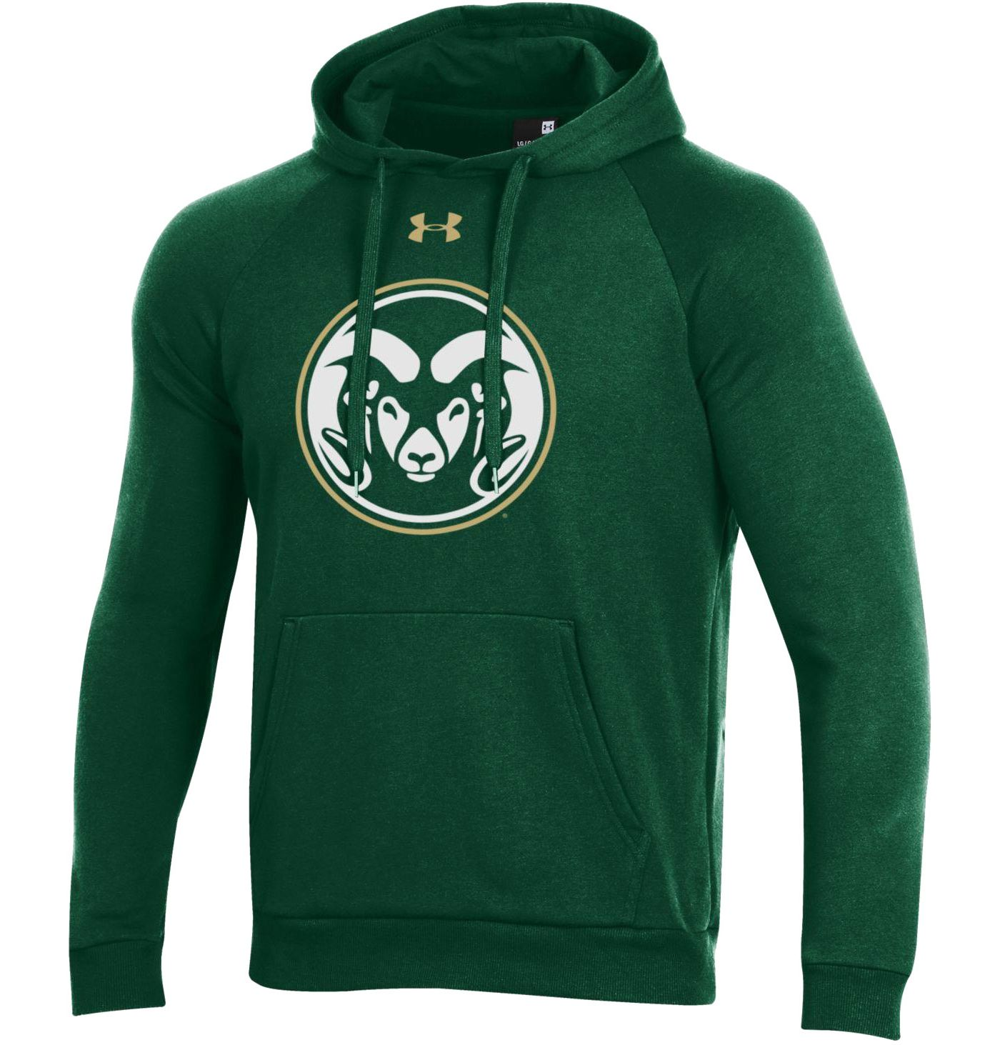 Under Armour Men's Colorado State Rams Green All Day Hoodie