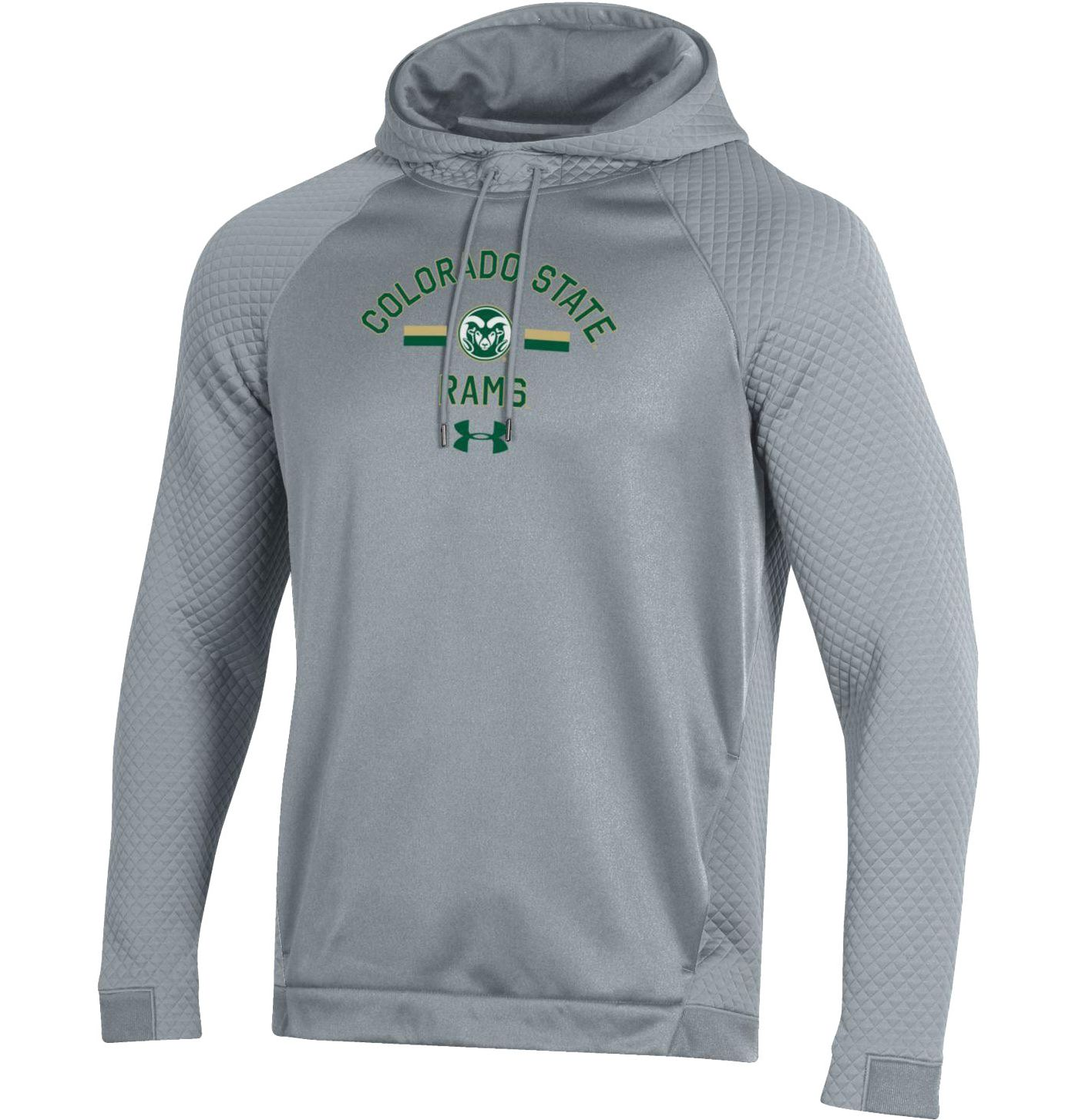 Under Armour Men's Colorado State Rams Grey HD Pullover Hoodie