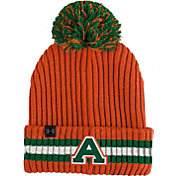 Under Armour Men's Colorado State Rams Orange Fundamental Pom Knit Beanie