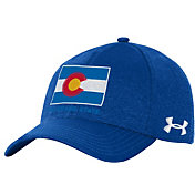 Under Armour Men's Colorado State Rams Royal Threadborne Closer Adjustable Hat