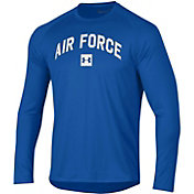 Under Armour Men's Air Force Falcons Blue Long Sleeve Tech Performance T-Shirt