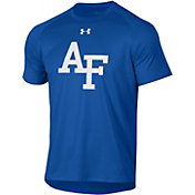Under Armour Men's Air Force Falcons Blue Tech Performance T-Shirt