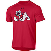 Under Armour Men's Fresno State Bulldogs Cardinal Tech Performance T-Shirt
