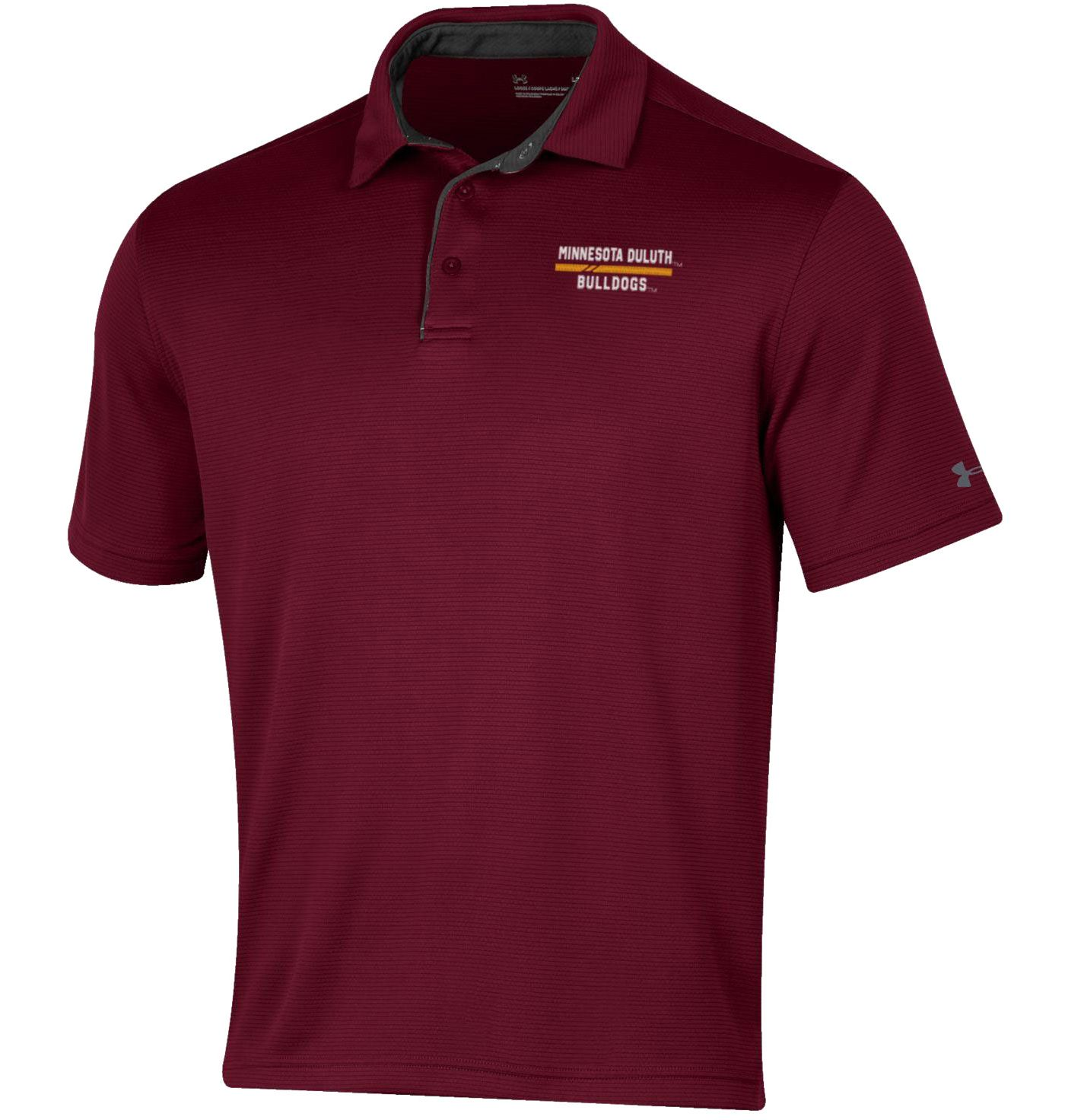 Under Armour Men's Minnesota-Duluth  Bulldogs Maroon Tech Polo